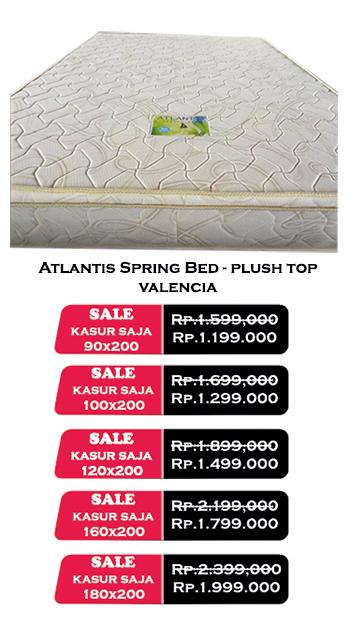 harga atlantis spring bed