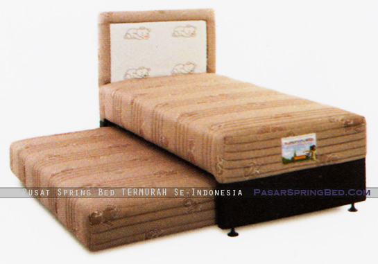 harga musterring spring bed - 2 in 1 symphony kids - hb porto - symphony series - w
