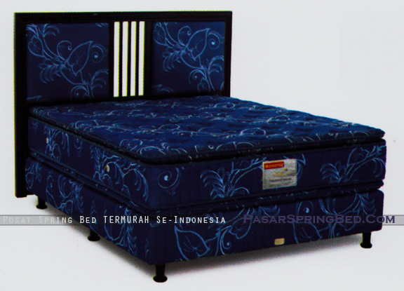 harga musterring spring bed - master double pillow top - divan master hb parma - master series - w