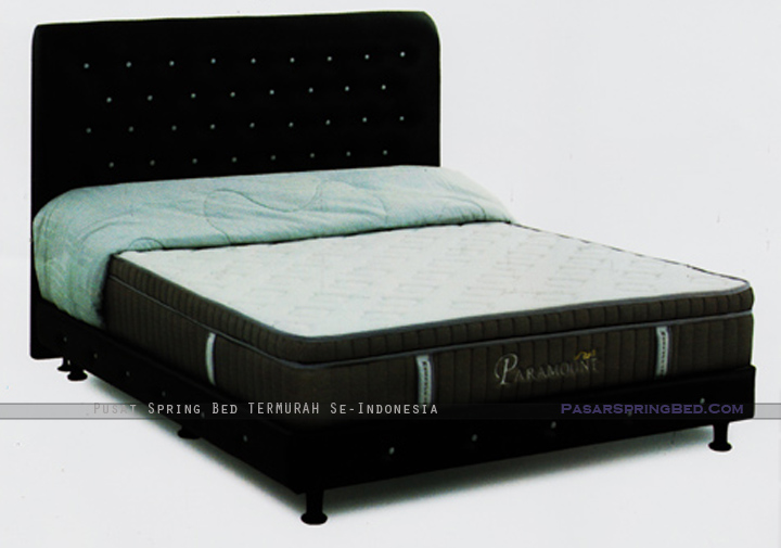 harga musterring spring bed - paramount pocket spring plush top - paramount series - w