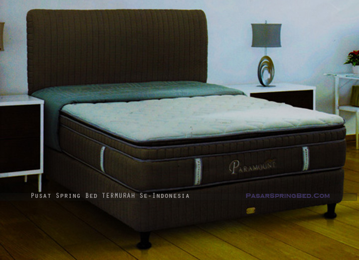 harga musterring spring bed - paramount spring euro latex top - paramount series - w