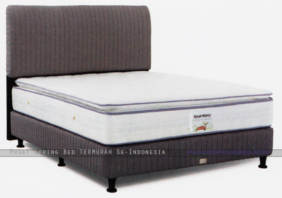 harga musterring spring bed - stanford pillow top - divan euro hb euro - stanford series - w