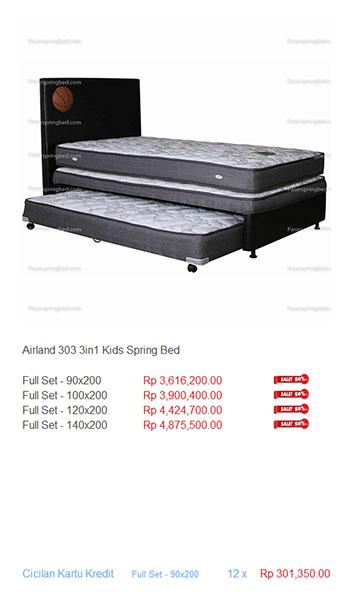 harga airland spring bed
