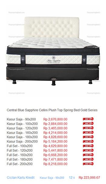Harga Central Spring Bed Daftar Central52 HARGA SPRING BED