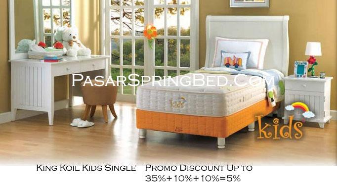 harga king koil spring bed - promo w