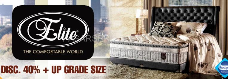 harga elite spring bed kasur