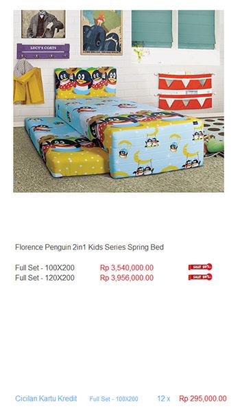 harga florence spring bed11