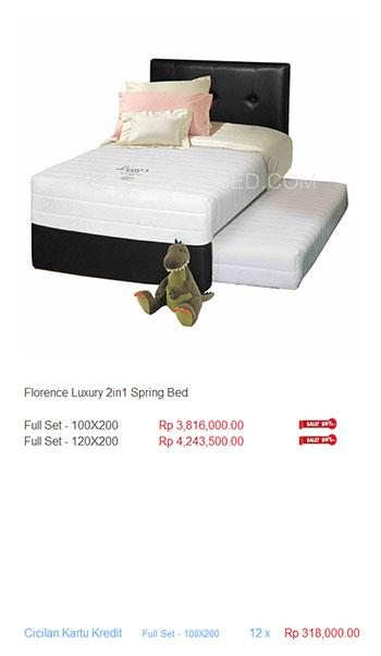 harga florence spring bed14