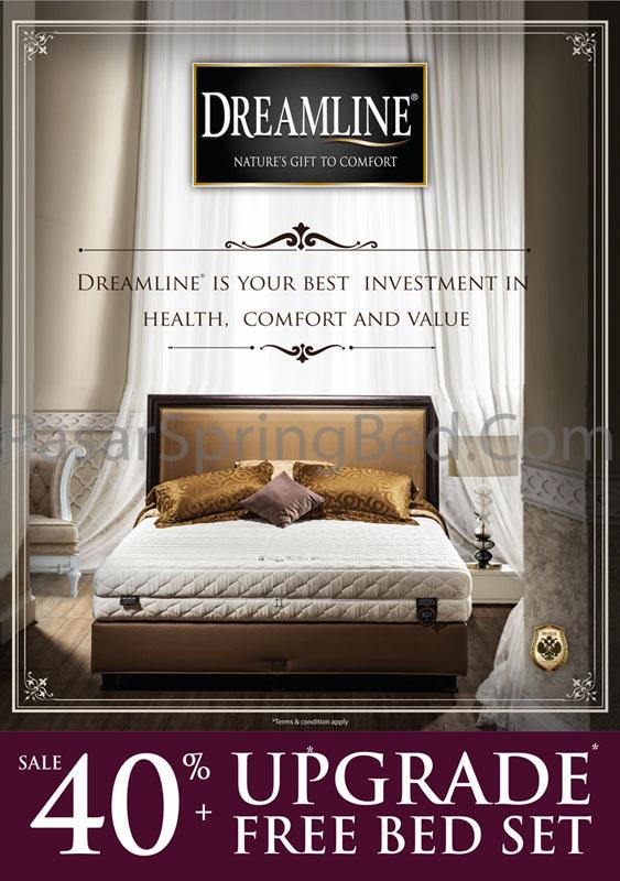 harga-dreamline-spring-bed