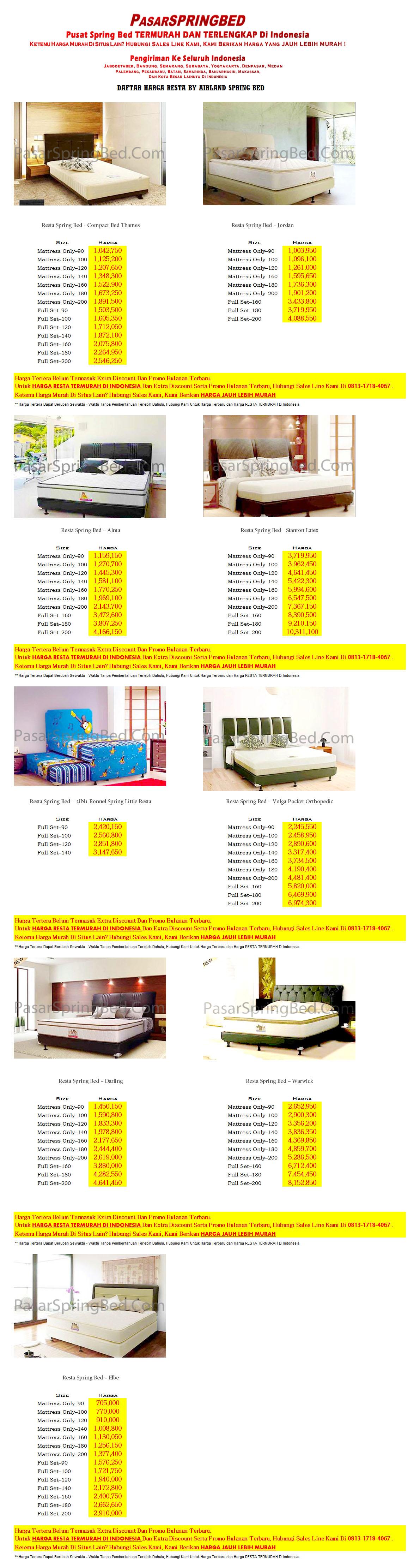 harga-resta-spring-bed
