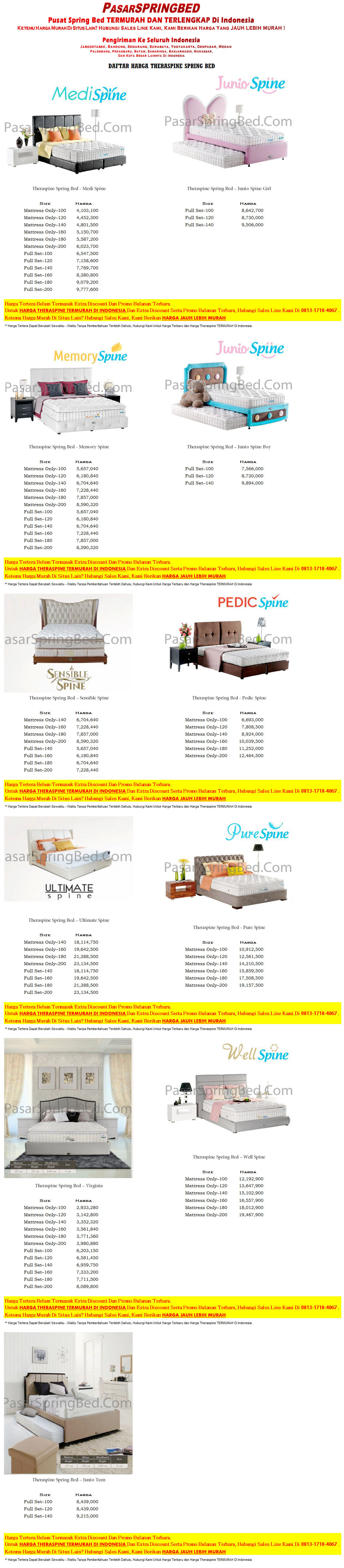 harga-theraspine-spring-bed