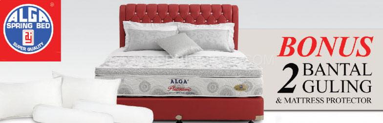 harga alga spring bed kasur