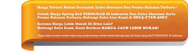 harga good night usa spring bed